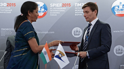 India to sign free trade deal with Russia-led Eurasian Economic Union