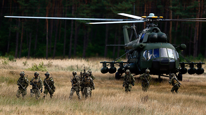 NATO conducting biggest beef up of defenses since Cold War – alliance chief
