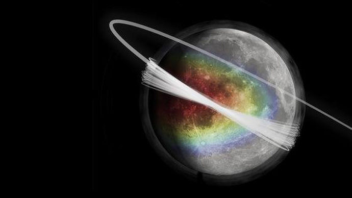 Scientists discover 'permanent' dust cloud around Moon