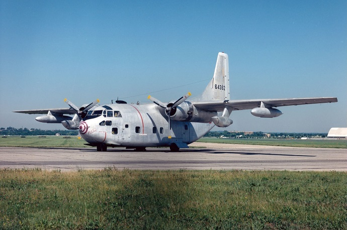 Fairchild C-123K Provider at the National Museum of the United States Air Force. (US Air Force photo)