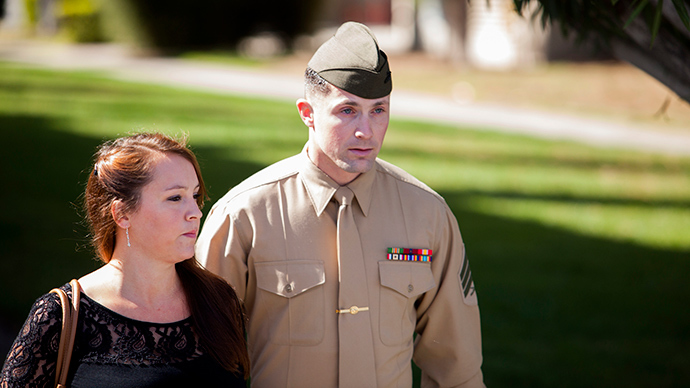 US Marine found guilty of murdering Iraqi, gets time served