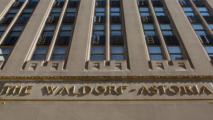 ​Security-conscious US diplomats shun Waldorf after Chinese acquisition