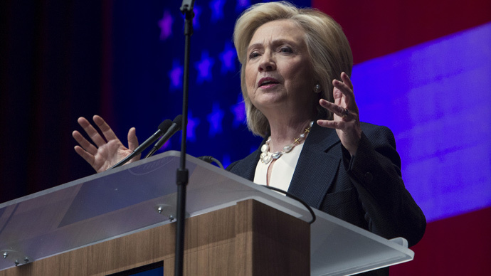 Clinton breaks with Obama, opposes 'fast-track' trade authority as bill heads to Senate