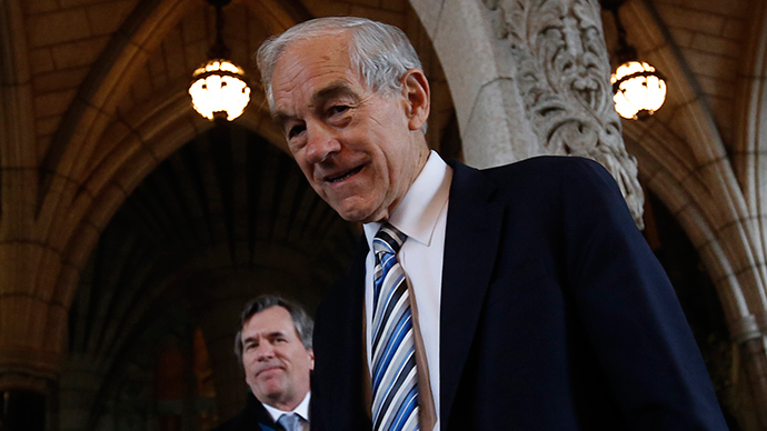 Ron Paul: Economy will soon have 'day of reckoning… when you'll see the very, very big crash'