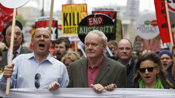 'End Austerity Now': Protesters speak out as '250k' decry savage Westminster cuts