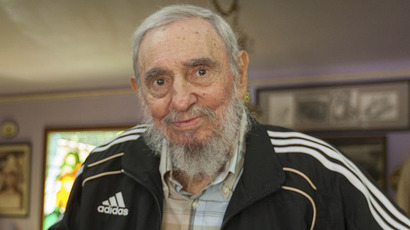 Retired Cuban leader Fidel Castro (Reuters/Alex Castro/CUBADEBATE)