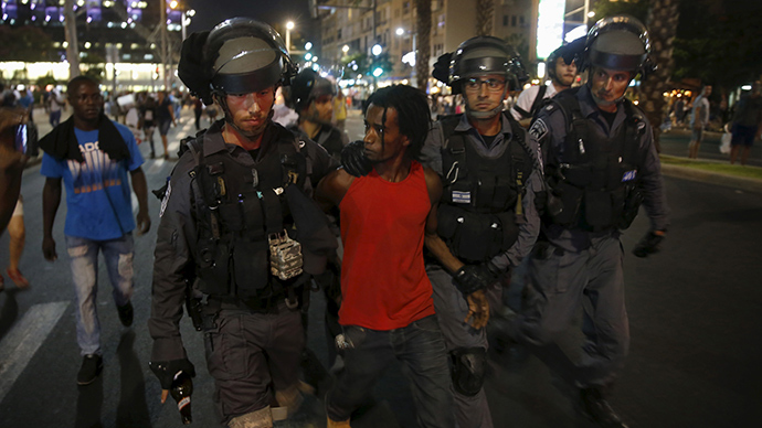 Ethiopian-Israeli anti-racism protest ends in clashes with Tel Aviv police, arrests (VIDEO)