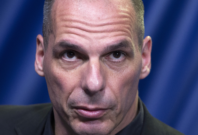 Greek Finance Minister Yanis Varoufakis (Reuters / Yves Herman)