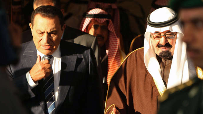 ​WikiLeaks 'Saudi Cables': Gulf States were willing to pay $10bn for Mubarak's release