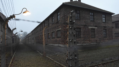 A general view of the former German Nazi concentration and extermination camp Auschwitz in Oswiecim. (Reuters / Pawel Ulatowski)
