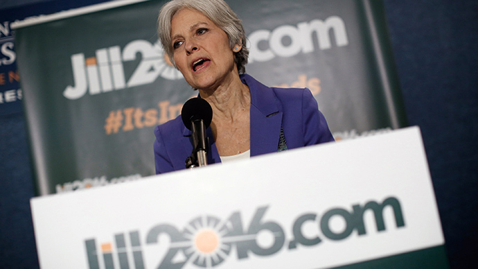 Jill Stein announces 2016 Green Party presidential bid