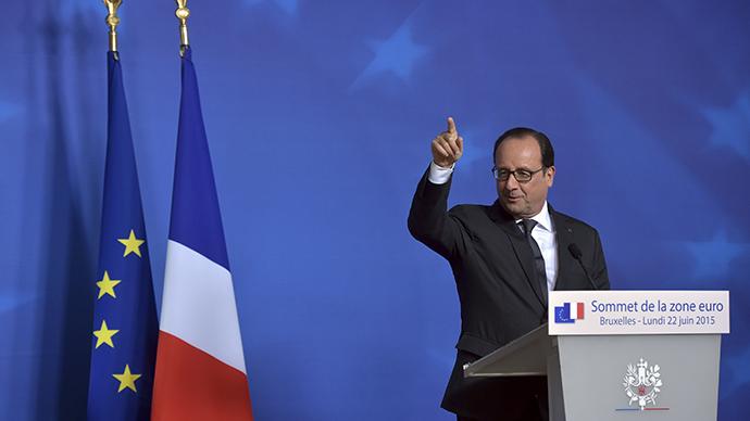 Leaked NSA intercepts: Hollande feared Grexit fallout, held secret meeting 'behind Merkel's back'