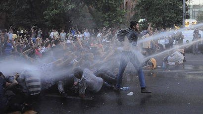Armenian protesters refuse to meet president, continue 'Electric Yerevan' sit-in