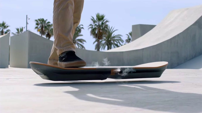 (Back to) the Future is here: Lexus builds a working hoverboard
