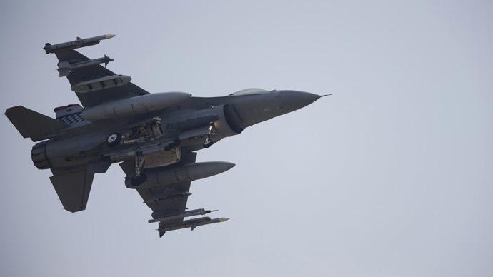 Air National Guard F-16 crashes near Douglas, Arizona, sparks 'massive fire'