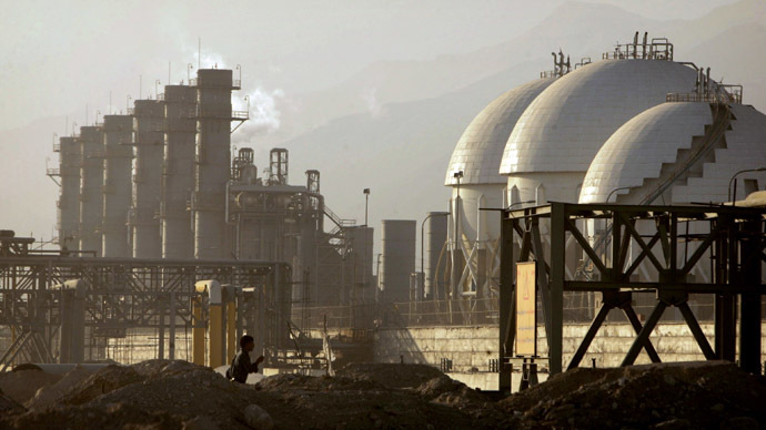 Oil firms Shell, Eni visit Iran as nuclear deal nears