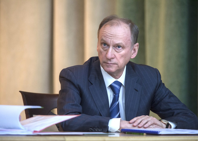 Nikolay Patrushev, Secretary of the Russian Security Council. (RIA Novosti / Sergey Guneev)