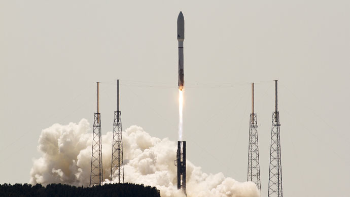Atlas V rocket (Reuters/Michael Brown)