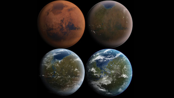 DARPA hopes to terraform Mars with human-engineered organisms