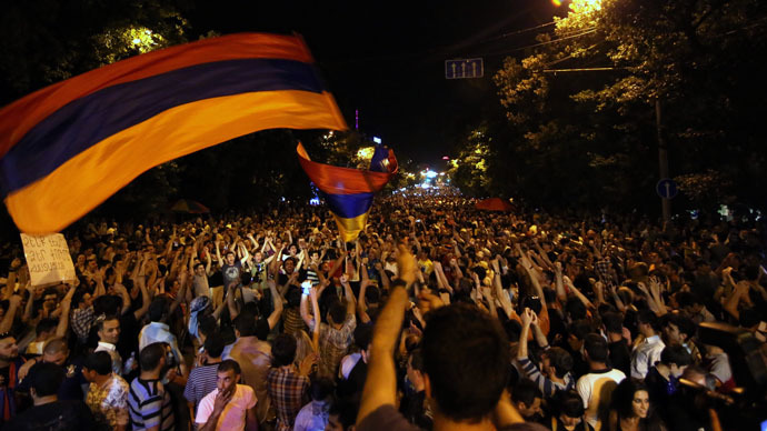 Tariff freeze & police brutality probe: Armenia protesters outline demands