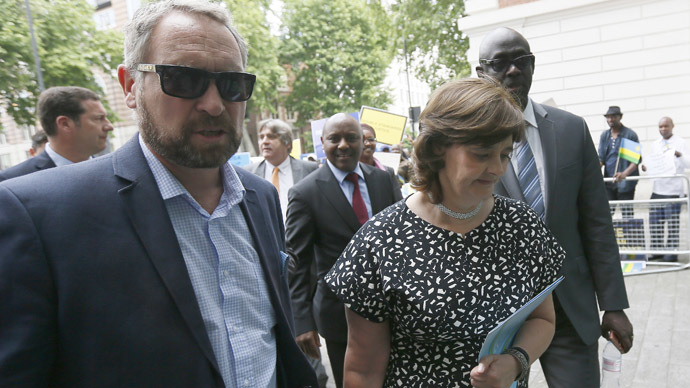 ​'War criminal' Rwandan spy chief freed on £1mn bail, thanks to Cherie Blair