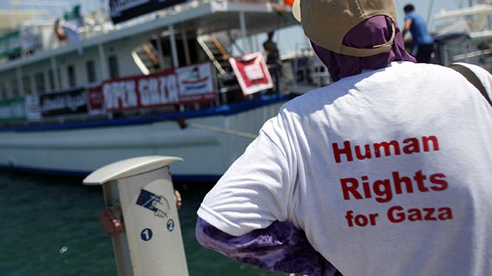 'Freedom Flotilla': Activists set sail for Gaza to break Israel blockade