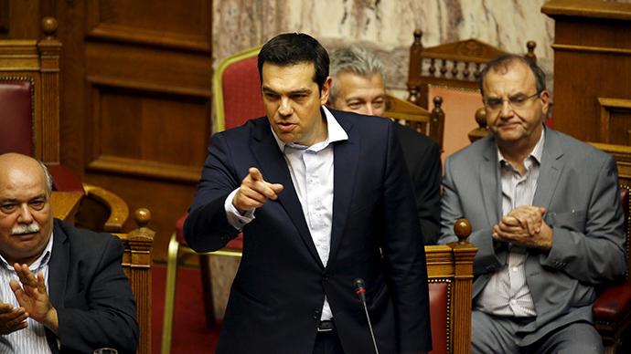 'We don't need EU permission': Greek parliament ratifies bailout referendum