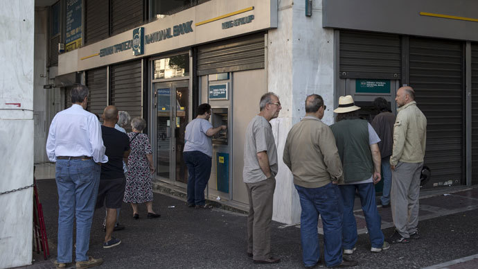 ECB says it will neither cut off nor increase emergency lending to Greek banks