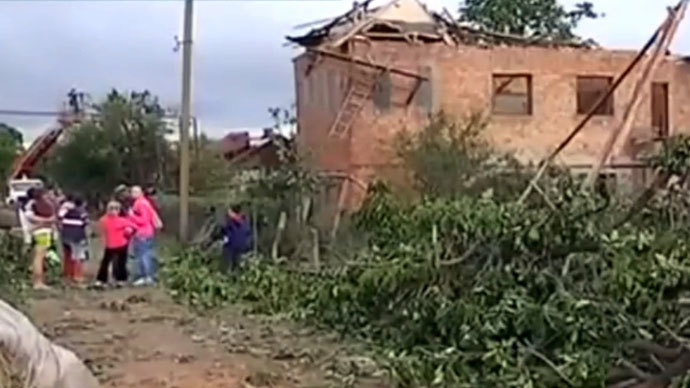 Oz-some! Ukrainians shocked by huge twister in their region (PHOTOS, VIDEOS)