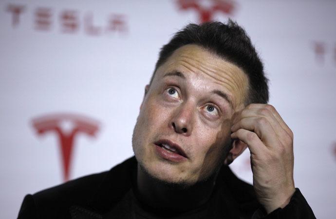 Tesla Motors CEO Elon Musk (Reuters/Lucy Nicholson)