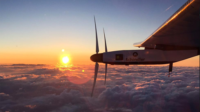 Record-breaking Solar Impulse 2 starts riskiest leg of longest ever solo flight