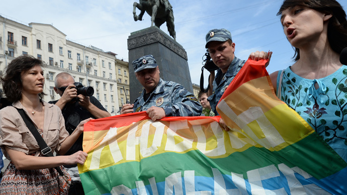 Moscow lawmaker seeks rainbow flag ban after Facebook fanfare of US gay marriage verdict