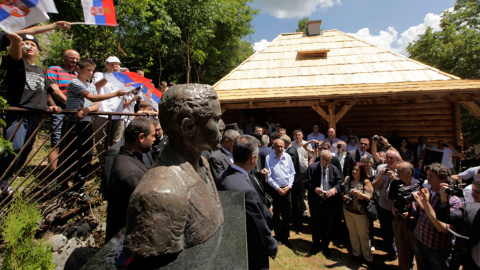 Serbia unveils monument to assassin who triggered WWI