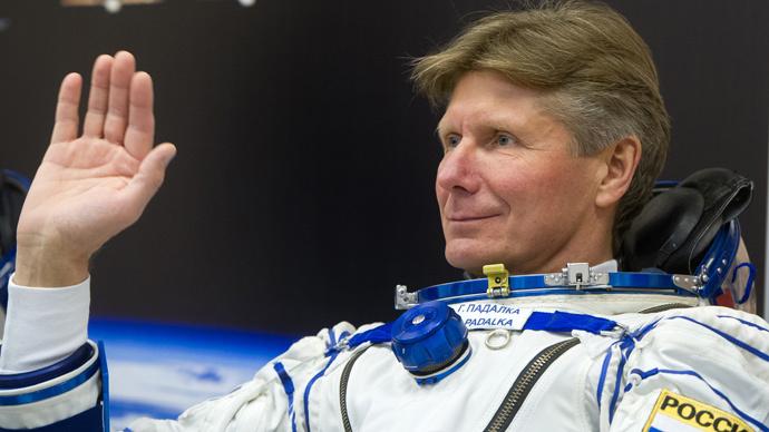 Russian cosmonaut Padalka sets world spaceflight duration record