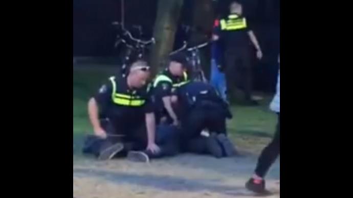 Man dies in hospital following brutal arrest by Dutch police