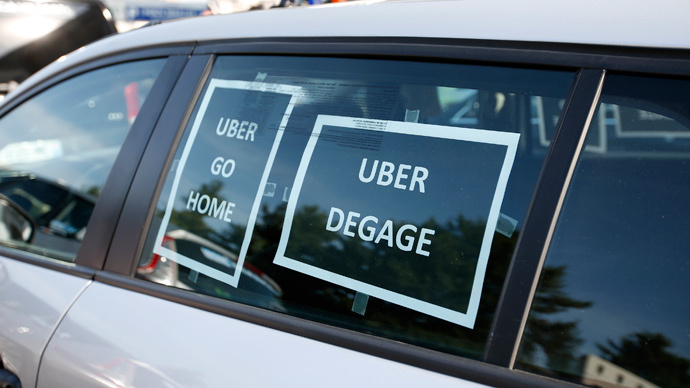 Uber managers arrested in France for 'illicit activity' amid crackdown