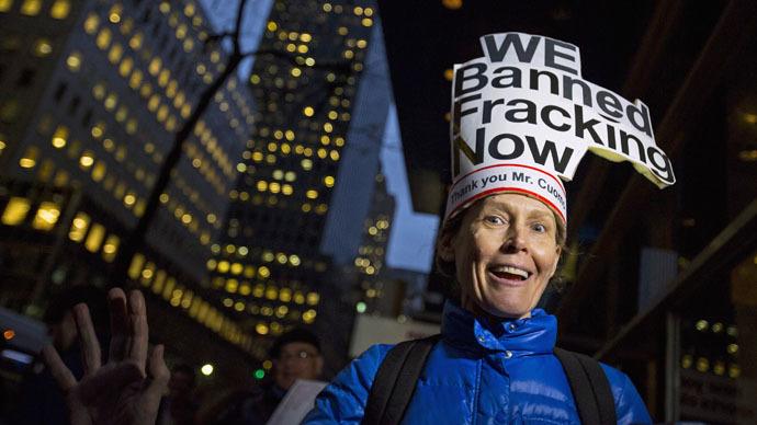 It's official: New York bans fracking