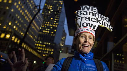 It's official: New York bans fracking