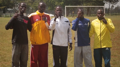 Star athletes walk 800km to halt violence in Kenya