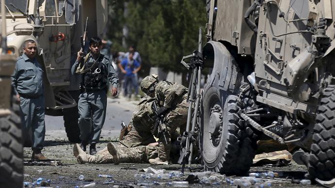 Blast targets NATO convoy near Kabul Airport, US Embassy