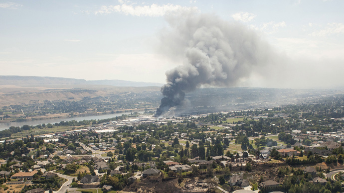 Heat & drought fuel Washington state wildfires