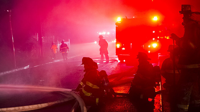 Fire destroys another African-American church in South Carolina