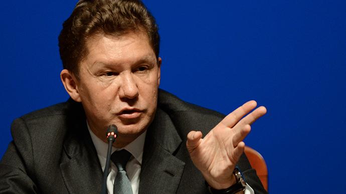 Gazprom halts gas deliveries to Kiev – CEO Miller