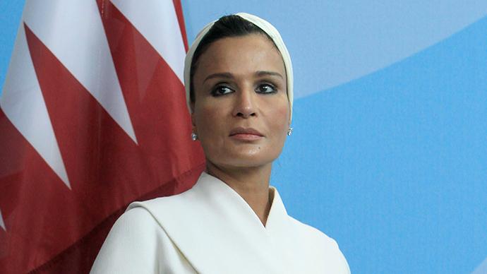 Sheikha Mozah bint Nasser Al Missned, wife of Former Qatar's Amir Sheik Hamad bin Khalifa al-Thani (Reuters / Thomas Peter)