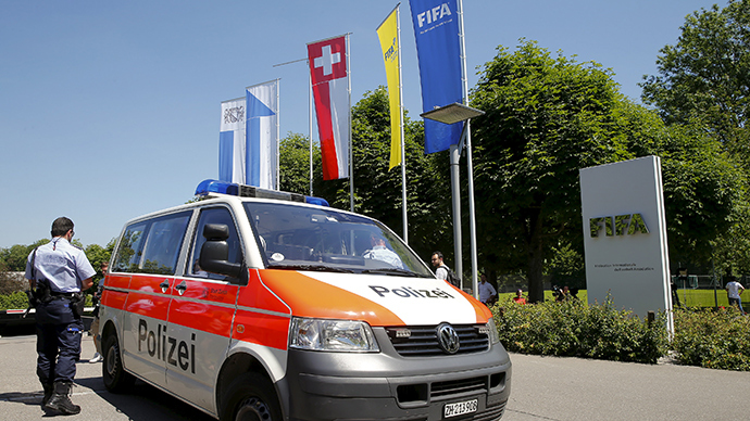 US asks for extradition of 7 FIFA officials - Swiss authorities