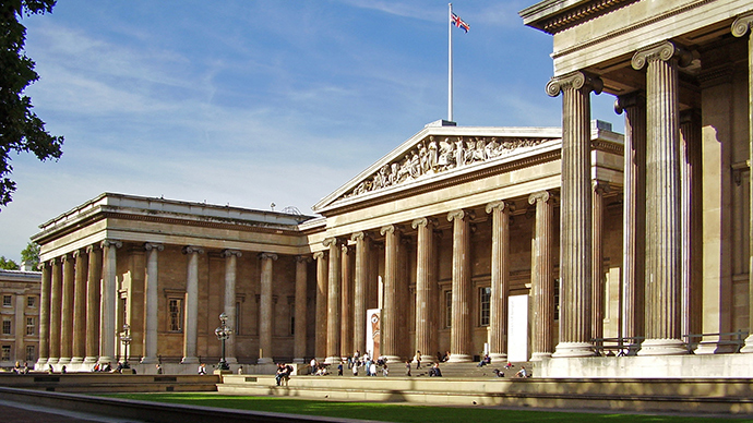 ​'Culture cleansing' ISIS could target British Museum artifacts, says outgoing director
