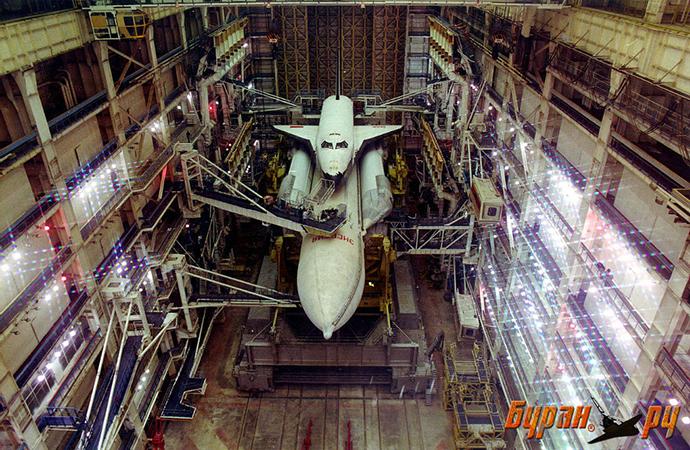 Buran during testing in the late 1980s (Photo: Buran.ru)