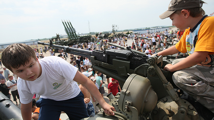 Russians are confident in their military, poll shows