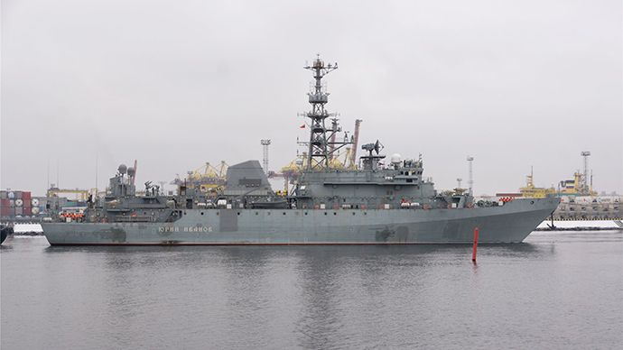Russian Navy's intel ship for monitoring US ABM systems 'to start tests in 2016'