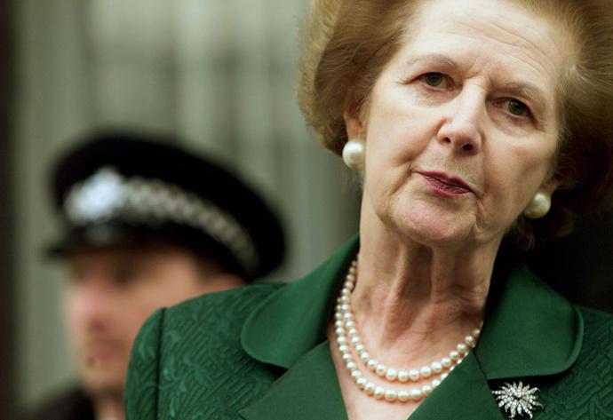Former Prime Minister Baroness Margaret Thatcher (Reuters)